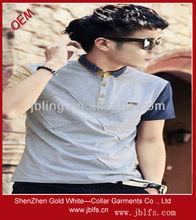 fashion Korea style men's polo t shirt