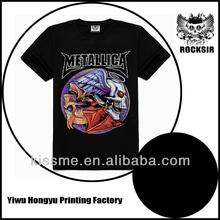 New Fashion Latest Design Sport Wholesale Metal Band T-Shirts