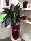 outdoor large plastic planters,garden plastic planter,outdoor big tree pot