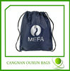 new style customized 100% polyester drawstring bag