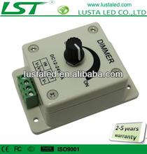 LED Dimmer Controller Brightness Adjustable, PWM Digital Dimming,LED Inline Dimmer