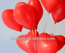 Colorful heart latex balloon for sales promotion