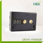 Hottest & newest 510 thread cartomizer ohm meter ecig