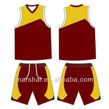 New basketball uniform design,Basketball tops&shorts,Cheap basketball wear