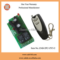 ZAB-2PC+ZY5-2,Learning code DC 12V/24V,2CHANNEL 200m wireless lifting transmitter receiver kit