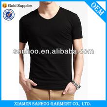 Men'S Comfortable Brand Name T Shirt Non-Fading Pure Cotton Plain