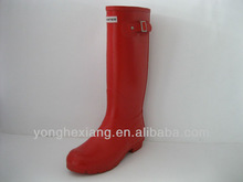 Latest European Style Hot Ladies Rain Rubber Boots