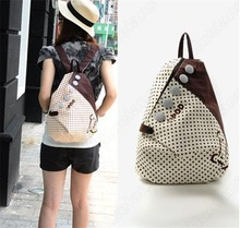 New 204 Fational Canvas Backpack Girls Vintage Rucksack Women Backpack Shopping Women Bag