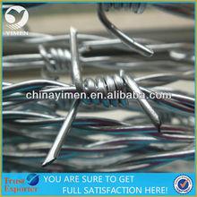 1.6MM Galvanized Barbed Wire Mesh to Brazil Market