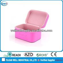 fashion customized shiny PU cosmetic case wholesale