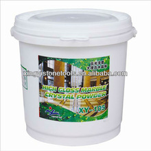 yellow resin marble powders for crystallization XY-105