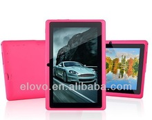 New model 7 inch mini tablet android 4.2 Allwinner A13 china tablet direct supplier