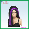 purple & black witch wigs/halloween wigs/carnival wigs