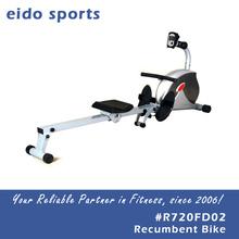 Guangzhou body workout equipment air rowing machine foldable