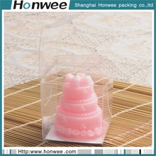 Fashion cheap eco-friendly promotional transparent cake box