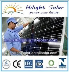 high efficiency low price solar panel price 150w