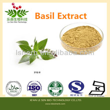 100% Real Material And Natural Top Quality Basil Extract alkaloids