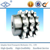 """DIN 8187 ISO/R 606 material C45 weld on hub 08b-3 pitch 12.7 roller 8.51 22T triplex roller chain sprocket 1/2""""*5/6"""""""