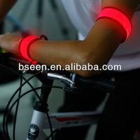 2014 import export business ideas led slap armband for running