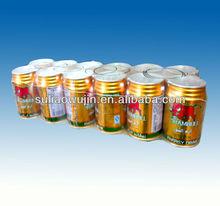 china manufacturing PE shrink film for bottled drinks packaging