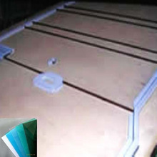 pet and petg board pc board for aluminum solar carport manufacturer since 2000 certificated by SGS