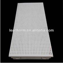 aluminum perforated ceiling tiles/aluminum truss/ceiling hook/acoustic insulation