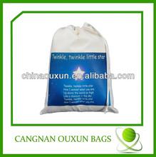 wholesale cotton drawstring fabric bag