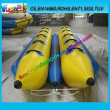 2014 Popular Double Side Inflatable Water Banana Boat (FUNIB1-082)