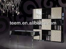 divany new antique design luxury bookcase set open doors customized bookcase