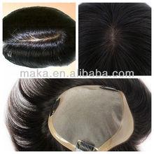 100% human hair men s Toupee