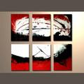 2014 novo produto de pintura a óleo moderna abstrata lona de parede