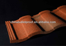 Northern Commerical and Residential Colorful roof tiles clay