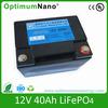 lifepo4 12v 40ah battery operated wireless security camera