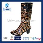 pictures of women in high heel rain shoes