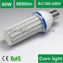 E40 80w led corn light built-in sun fan with 3 years warranty