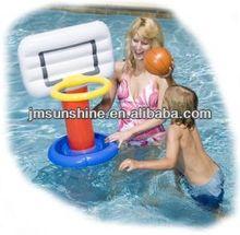 Colourful PVC Inflatable Pool Basketball Hoop