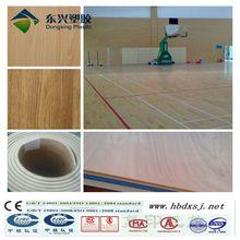 Vinyl Flooring Wood Grain Surface