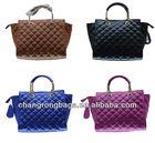 2014 Guangzhou fashion and designer no name leather handbags