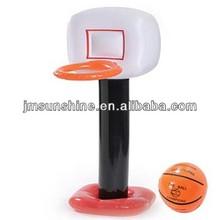 water pool kids play custom pvc pool inflatable basketball hoops for sale