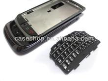 Full housing for Blackberry 9800 keypad,battery door and lens