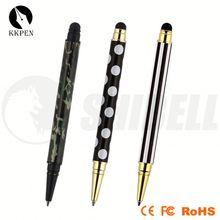 small touch stylus pen palstic ball pen