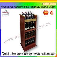 New product lattice wine rack pop custom teak wine rack