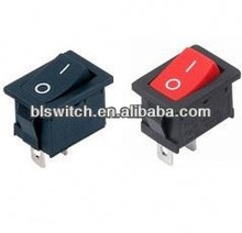 Micro 2 pin red kcd3 switch rocker 3A 250V