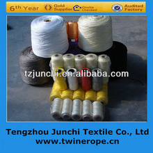 high quality gold cup colorful twisted colored pp twine