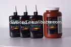 Light Amber Sbutransparant UV Cure Acrylic Adhesive/Glue for Metal/ABS/PVC Bonding