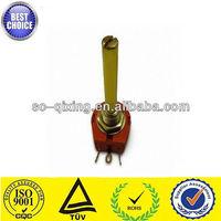 Long shaft rotary wire potentiometer 100k 200k singleturn xw118