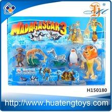 wholesale plastic toys kids madagascar toys doll action figure toys doll small toys figure toys H150179