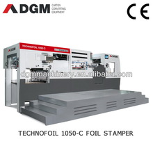HOT FOIL STAMPERS TECHNOFOIL 1050 C Automatic die cut and foil stamping machine