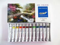 oil color 12ml, top quality oil color, wall art oil color paint