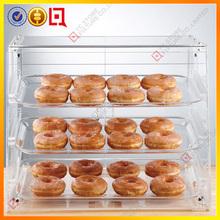 Modern high quality glass cake display cabinet